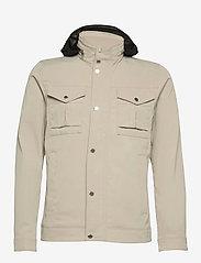 J. Lindeberg - Bailey Poly Stretch jacket - leichte jacken - sand grey - 2