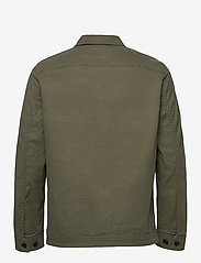 J. Lindeberg - Eric Cotton Linen Jacket - oberteile - lake green - 2