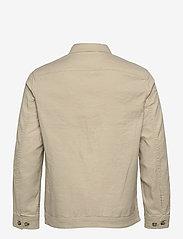 J. Lindeberg - Eric Cotton Linen Jacket - oberteile - sand grey - 2