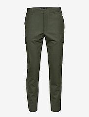 J. Lindeberg - Sasha cargo-Active wool - bojówki - covert green - 1