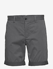 J. Lindeberg - Nathan-Super Satin - tailored shorts - dark grey - 0