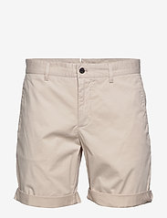 J. Lindeberg - Nathan-Super Satin - chinos shorts - cloud grey - 0