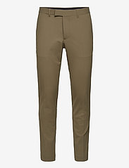 J. Lindeberg - Grant Stretch Twill Pants - anzugshosen - army green - 0