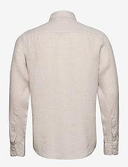 J. Lindeberg - Fredrik BD-Clean Linen - chemises basiques - cloud grey - 1