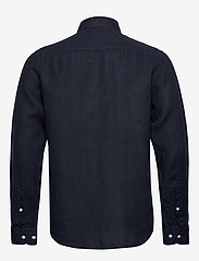 J. Lindeberg - Fredrik BD-Clean Linen - basic-hemden - jl navy - 1