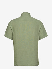 J. Lindeberg - Fredrik BD SS-Clean Linen - chemises basiques - sage green - 1