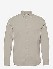 J. Lindeberg - Stretch Oxford Slim Shirt - basic-hemden - lake green - 1