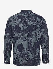J. Lindeberg - Seasonal Print Reg Fit Shirt - leinenhemden - jl navy - 2
