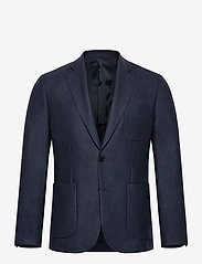 J. Lindeberg - Hopper PP2 UNC-Moulin' Twill - single breasted blazers - jl navy - 0