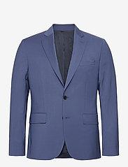 J. Lindeberg - Hopper Soft-Comfort Wool - single breasted blazers - yale blue - 0