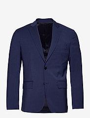 Hopper U Comfort Wool Blazer - MIDNIGHT BLUE