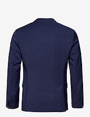 J. Lindeberg - Hopper U Comfort Wool Blazer - single breasted blazers - midnight blue - 2
