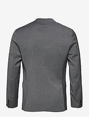 J. Lindeberg - Hopper U Comfort Wool Blazer - single breasted blazers - stone grey - 2