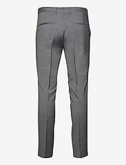 J. Lindeberg - Grant Comfort Wool Pants - anzugshosen - stone grey - 2