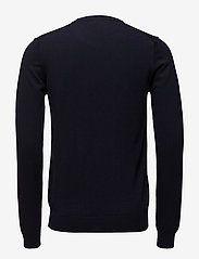 J. Lindeberg - Lyle True Merino - basic-strickmode - navy - 1
