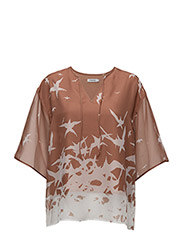 Ilina Placement Print - NUDE
