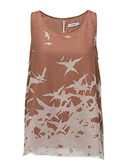 Idie Placement Print - NUDE