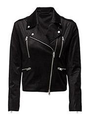 Zoe Velvet Cord - BLACK