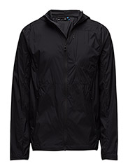 M Hooded Wind Jacket - BLACK