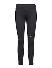 W Running Tights Comp. Poly - BLACK