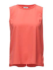 Emily Spring Drape - HOT CORAL
