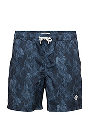 Banks Pattern Swim - NAVY