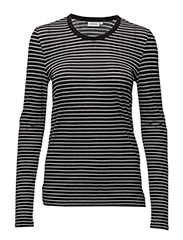 Jeanne Summer Stripe - BLACK