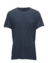Sev C Slit Stripe Linen - CHAMBRAY STRIPE
