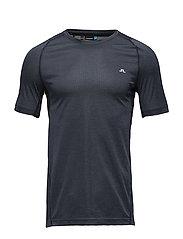 M Active T-Shirt Elements Jer. - NAVY MELANGE