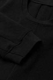 J. Lindeberg - Noelle Lux Structure - midi dresses - black - 2
