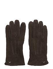 Nolo Glove Suede - DK BROWN