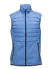M Hybrid Vest Lux Softshell - SILENT BLUE