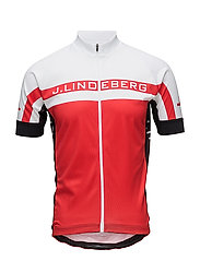 M Bike Striped Jersey Pro Poly