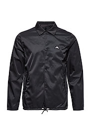 Nate Bomber Satin - BLACK
