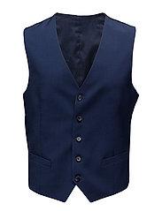 Justin Comfort Wool - MID BLUE