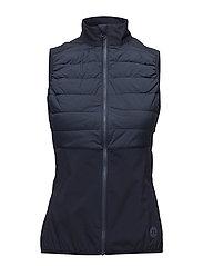 W Hybrid Vest Lux Softshell - JL NAVY