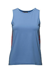 W Ella Poly jersey - SILENT BLUE