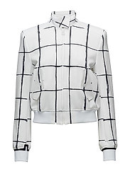 W Lenore Jkt Tech Track - INVERTED WINDOW PANE