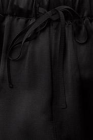 J. Lindeberg - Spring Viscose Silk - straight leg trousers - black - 4
