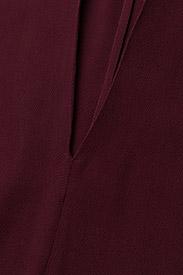 J. Lindeberg - Noelle Drapy Crepe - short dresses - burgundy - 3
