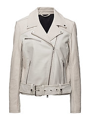 Colton Patched Leather - WHITE