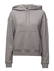 Compton Stitched Sweat - LT GREY MEL