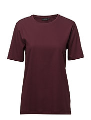 Elin Smooth Jersey - BURGUNDY