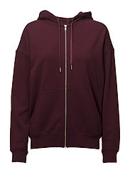 Teodora JL Sweat - BURGUNDY