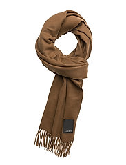 Frame Scarf Wool - BISON