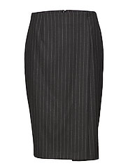 Silva Wool Pin - BLACK STRIPE