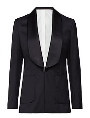 Carson Tux Tailored Wool - BLACK