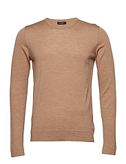 Newman C-neck Perfect Merino - FADED BEIGE