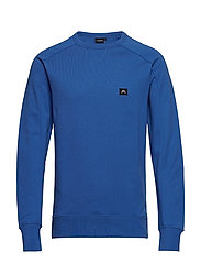 Throw C-Neck Ring loop sweat - WORK BLUE