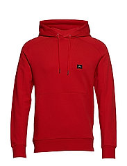 Throw Hood Ring loop sweat - DEEP RED